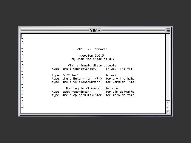 VIM 5.6 (2000)