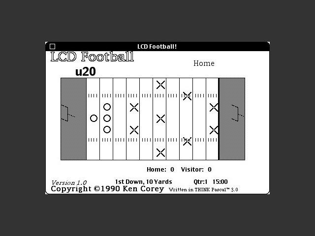 LCD Football (1990)