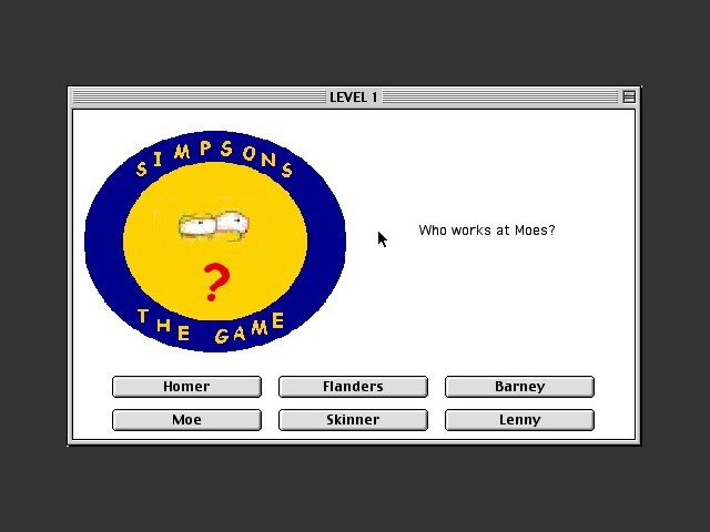 Simpsons The Game 3.0 (2001)