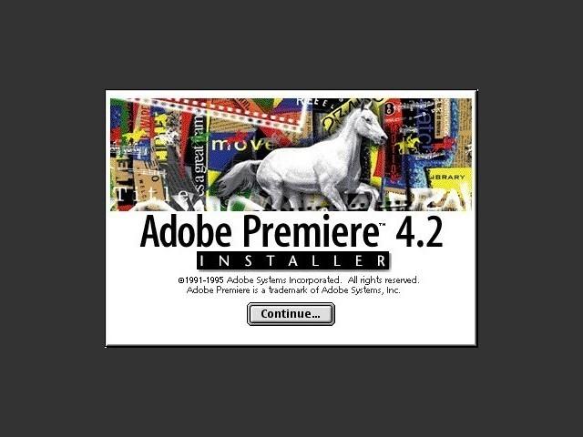 Adobe Premiere 4.2.1 + Dynamic Effects Vol 1 (1995)