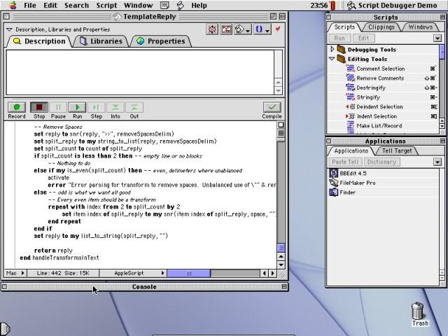 Script Debugger 3.0.9 (2003)