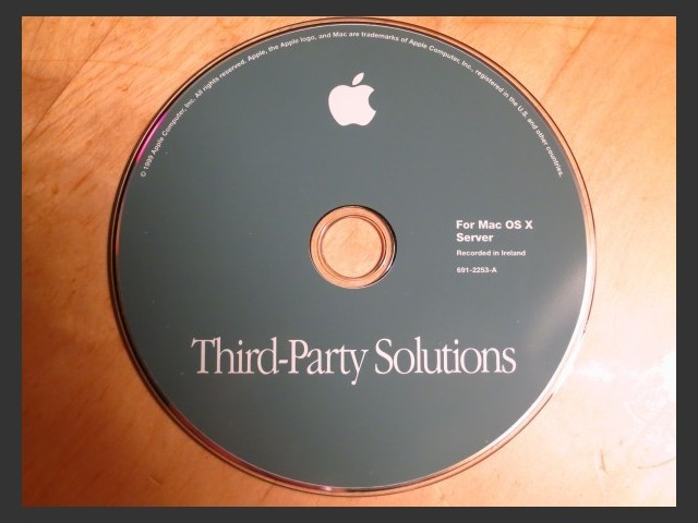 Mac OS X Server 1.0 3rd Party Solutions (1999)