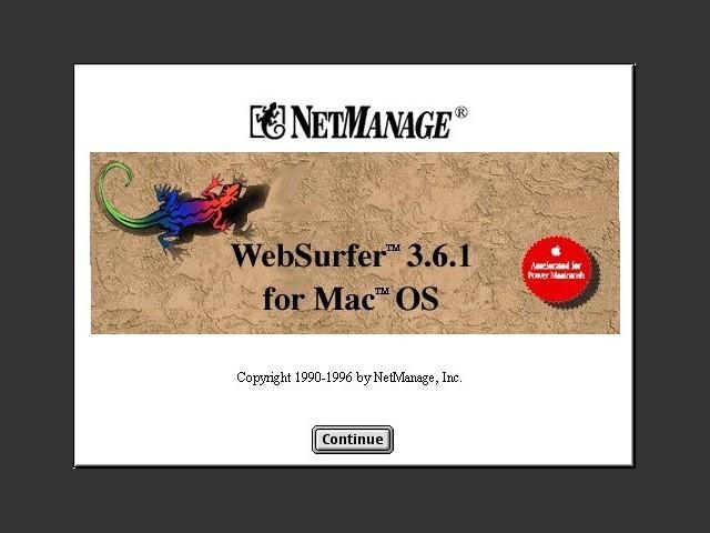 NetManage WebSurfer (1996)