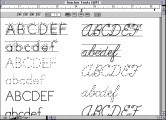 Fonts4Teachers (Fonts For Teachers) (2000)
