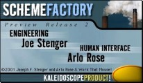 Scheme Factory (Kaleidoscope editor) (2002)