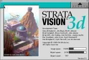 Strata Vision 3D 3.1 (1994)