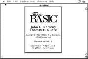 True BASIC 2.5 (1992)
