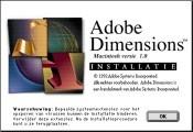 Adobe Dimensions 1.0 (NE) (1992)