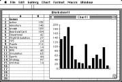 Microsoft Excel 1.03, 1.06, 1.5, 2.2a, 3.0a, 4.0, 5.0a (1985)