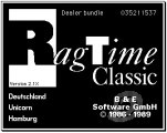RagTime Classic (German, Version 2.1X) (1989)