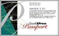 QuarkXPress Passport 3.32 (Portuguese) (1995)