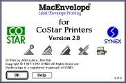 CoStar Macintosh Software 2.0 (1994)