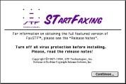 STartFaxing 1.1 (1994)