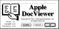 Apple DocViewer 1.0 (1992)