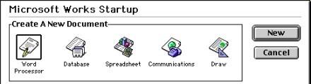 Microsoft Works 4.0 (1994)