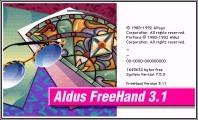 Aldus FreeHand 3.0 + 3.1 (1991)