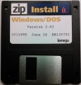 Iomega Zip Install Disk for Windows/DOS v3.02 (1995)