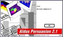 Aldus Persuasion 2.12 (1992)