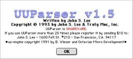UUParser 1.x (1993)