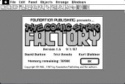 Fred Nerd's Comic Strip Factory (1986)