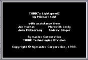 Symantec THINK's Lightspeed C 3.01 (1988)