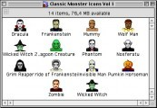 Classic Monster Icons Vol. 1 + 2 (1999)