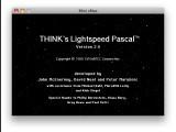 Symantec THINK's Lightspeed Pascal 2.0 (1988)
