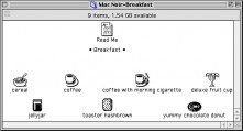 Mac Noir icons (The Breakfast + Skolnick) (1997)