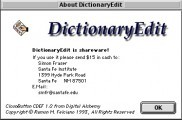 DictionaryEdit (1995)