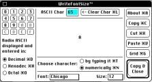 WriteFontSize (1991)