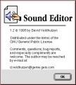 Sound Editor (1995)