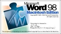 Microsoft Word 98 (1998)