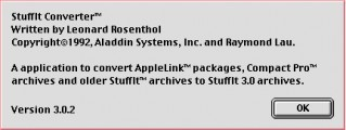 StuffIt Converter 3.x (1992)