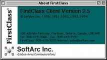 FirstClass 2.5 (Client + Server + Forms Editor) (1994)