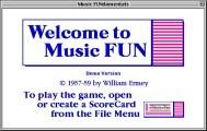 Music FUN(damentals) 1.0 (1989)