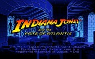 Indiana Jones and the Fate of Atlantis (CD version) (1992)