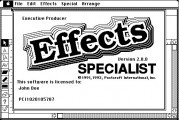 Effects Specialist (1992)