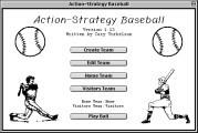 Action-Strategy Baseball (1994)