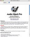 Audio Hijack Pro 2.x (2009)