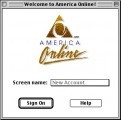 America Online 1.0 (1989)