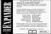 StuffIt Expander 4.0.2 (1992)