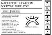 Macintosh Educational Software Guide 1992 (1992)