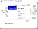 Claris MacProject II 2.x (1991)