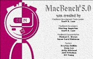 MacBench 5.0 (1999)