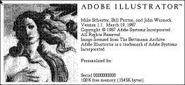 Adobe Illustrator 1.1 (1987)