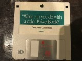 """What can you do with a color PowerBook?"" - Apple On-Screen Commercial (1993)"