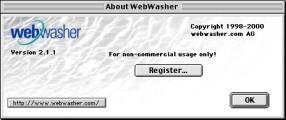 WebWasher 2.1.1rc (2000)