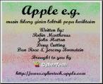 Apple's e.g. (1996)