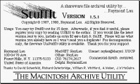 StuffIt 1.x (1988)