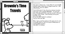 Brownie's Time Travels (0)
